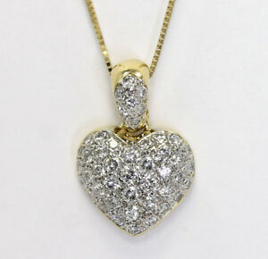 Diamond-heart-slide-pendant-necklace-18K-gold-46-round-brilliant-1-20C-box-chain