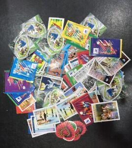 Lot-de-faciale-100-timbres-a-3-Francs-pour-Affranchissement