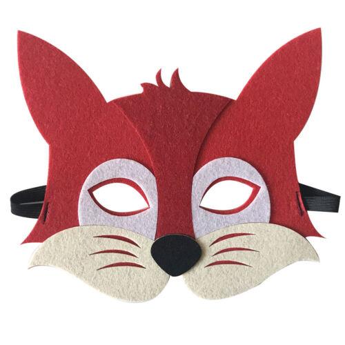 Children Halloween Masks Cute Animal Masquerade Party Costume Cosplay Prop