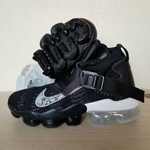 Nike-Air-Vapormax-Premier-Flyknit-Shoes-Black-White-Oreo-Men-039-s-SZ-AO3241-002