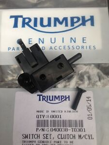Triumph Tiger 900 Clutch Switch NEW Carb Model 885