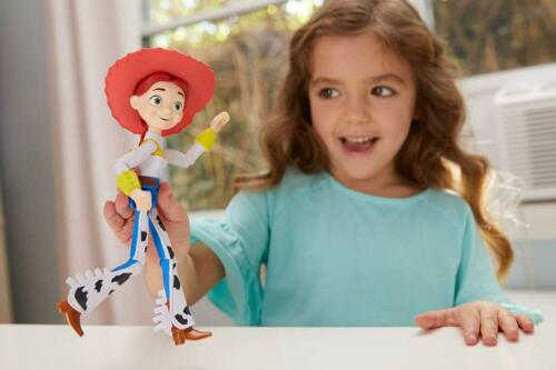 Jessie Figure Toy Story Iconic Cowgirl Outfit Removable Hat 8 Inch Disney Pixar