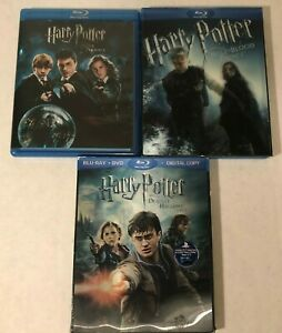 Harry-Potter-Blu-ray-Lot-Deathly-Hallows-Part-2-Order-Phoenix-Half-Blood-Prince