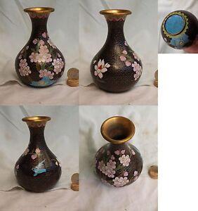 VASE-CLOISONNE-EMAUX-ART-ASIATIQUE-ASIE-JAPON-CHINE