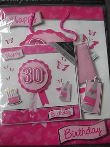 Image Is Loading 30th BIRTHDAY GIFT SET LARGE BAG HANDCRAFTED