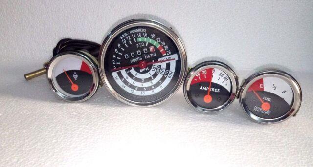 John-Deere-Tachometer-Temp-Oil-Amp-Fuel-Gauge