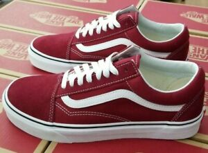 precio competitivo eaa31 a94d0 Details about VANS OLD SKOOL RUMBA RED / TRUE WHITE MENS VN0A38G1VG4