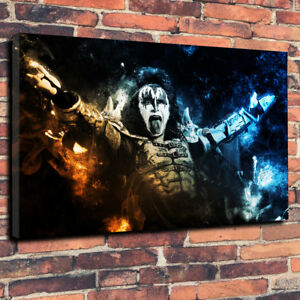 """Ozzy Osbourne Rock Music Printed Box Canvas Picture A1.30/""""x20/""""30mm Deep Wall Art"""