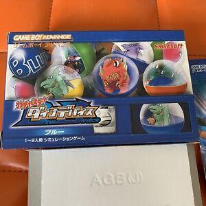 Gachasute-Dino-Device-Blue-Smilesoft-Gameboy-Advance-GBA-Nintendo-jp-japan-NEW