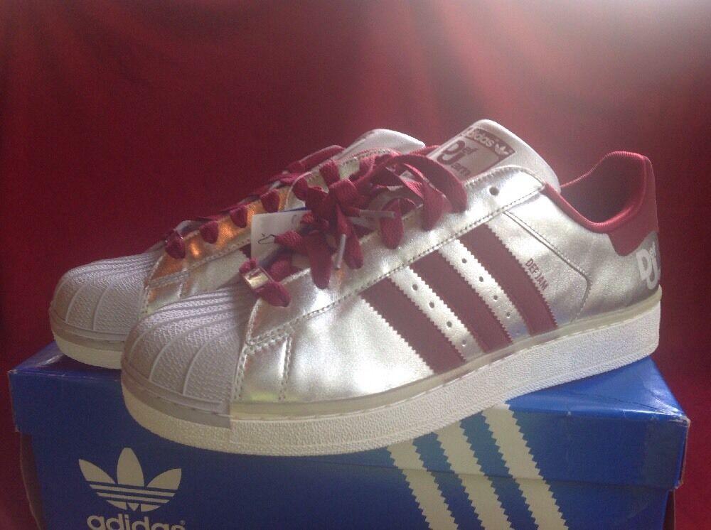 Adidas Originals Superstar II PT Silver Anniversary Def Jam RARE Size 12 NIB!