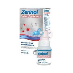 Zerinol Virus Defense - Spray Orale da 20ml - Efficacia Clinicamente Testata