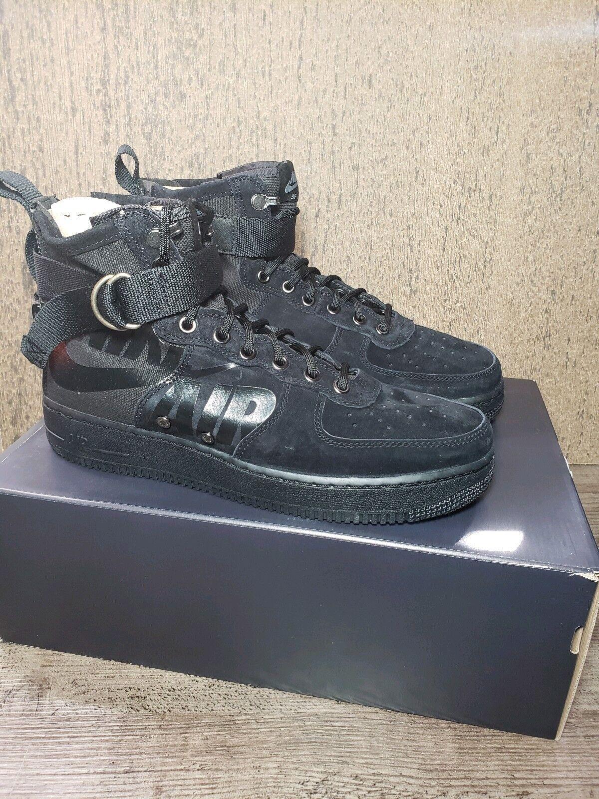 87618fe39b8c Nike SF AIR 1 MID shoes Black Cool Grey 917753-008 Men s Size 8 AF1 Force  nsnvti3118-Athletic Shoes - climbing.mbrooksfit.com