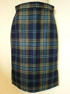 Vivienne-Westwood-Red-Label-blue-tartan-skirt-Size-42-UK-10-BNWOT
