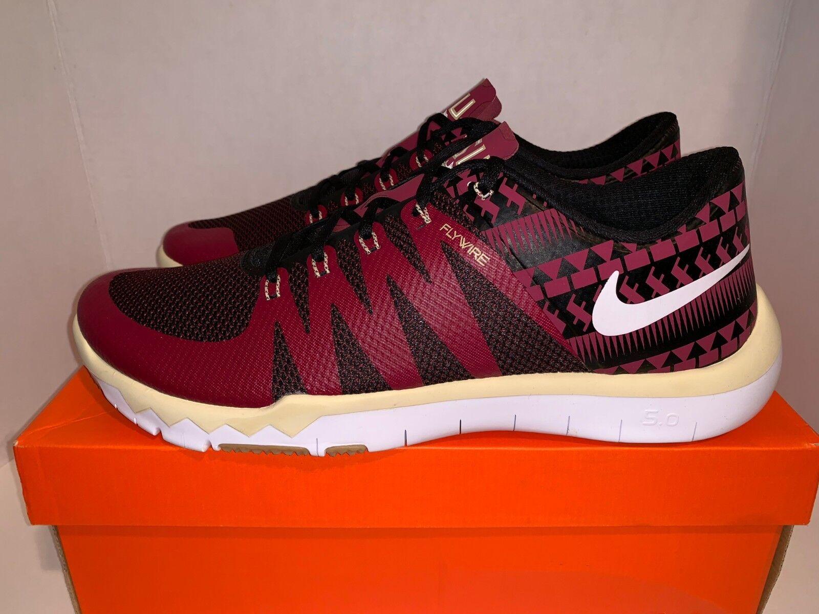 Nike free trainer 5,0 v6 state amp florida state v6 seminoles fsu männer ist groß. 37e292