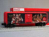 Lionel Coca Cola Heritage Military Boxcar 1 O Gauge Coke Train 6-83775