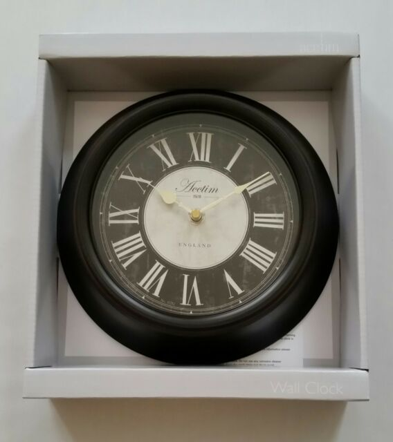 Acctim 1928 Vintage Style Wall Clock Roman Numerals