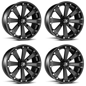 4-ATV-UTV-Wheels-Set-14in-MSA-M20-Kore-Black-4-156-0mm-550