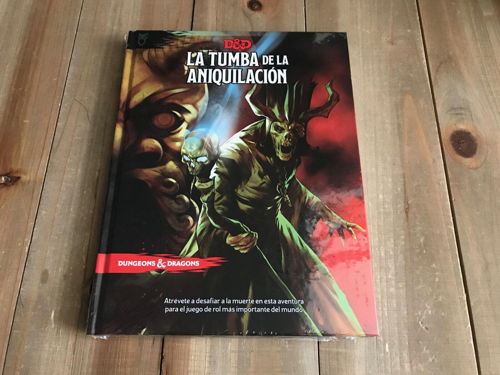 Dungeons & Dragons 5 - La Tumba de la Aniquilación - juego rol - EDGE - RPG D&D