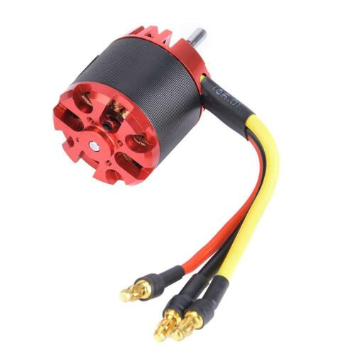 Brushless motor with metal external rotor n2830 1300kv for aircraft a2212