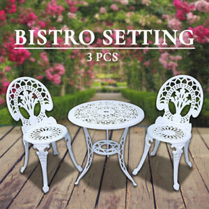 Outdoor-Setting-Cast-Aluminium-Bistro-Table-Chair-Setting-3-pc-Vintage-Patio