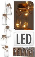 LED Botellas Guirnalda Guirnalda de luces Iluminación Decoración De La Navidad