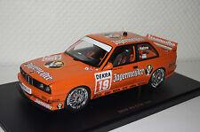 """BMW M3 E30 DTM 1992 """"Jägermeister"""" Hahne #19 1:18 Autoart neu & OVP 89248"""