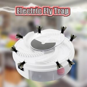 New-Electric-Fly-Trap-Device-with-Trapping-Food-White-USB-Cable-Insect-Killer-L3