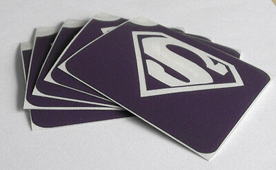 TEMPORARY GLITTERTATTOO 5 x stencil superman glitter tattoo cool item L@@K