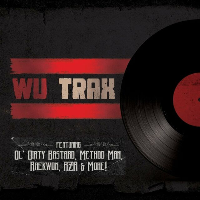 Wu Trax On Wax feat. RZA / Method Man / Gravediggaz (1LP Vinyl) NEW + OVP
