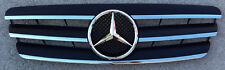 Black W203 Grille C Class, 00-06, GRG-W203-0006G-CL3-BK, (Fits: Mercedes)