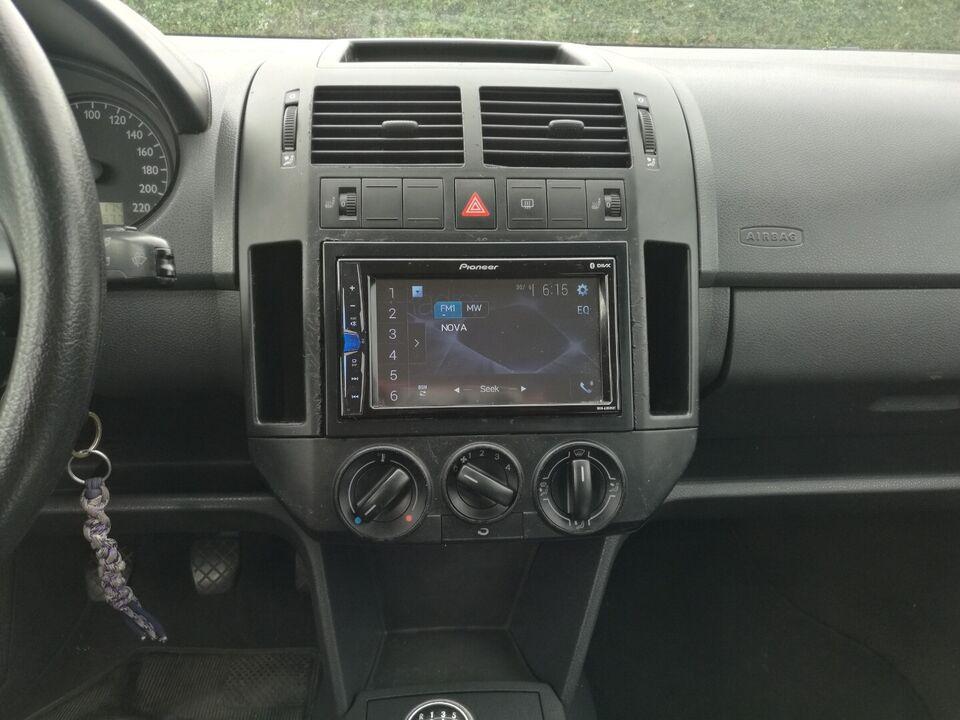 VW Polo 1,9 TDi Diesel modelår 2002 km 269000 Sortmetal træk