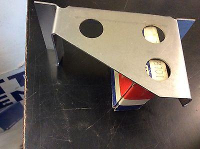 TRIUMPH TR4 TR4A,TR250,TR5,TR6 REAR L//H FLOOR  SILL 3 HOLE MOUNT BRACKET 616004