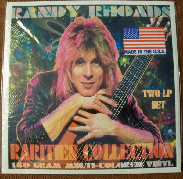"""Randy Rhoads """"rarities Collection"""" Double Multicoloured 180 Gr Lp Demos And Live Meer Comfort Voor De Mensen In Hun Dagelijks Leven"""