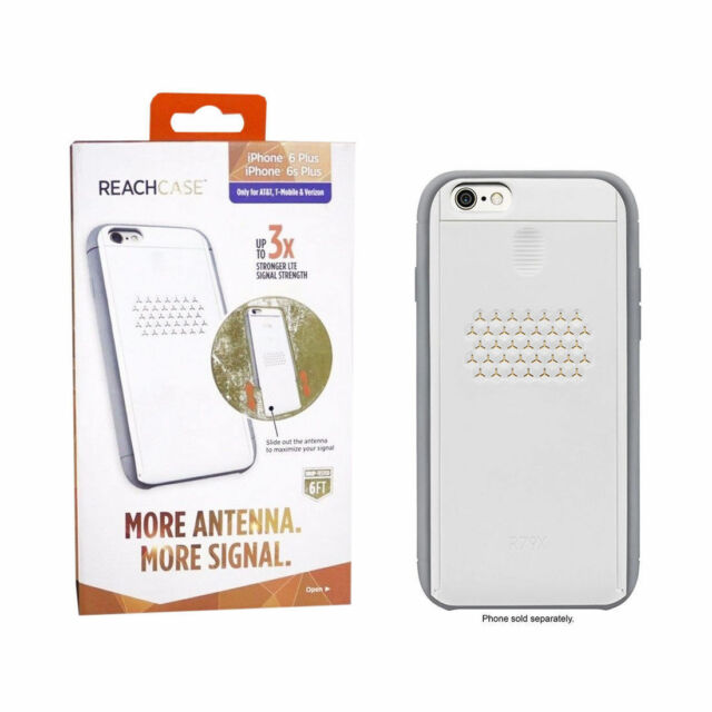 Apple iPhone 6 6s Plus Reach Antenna Impact Case Verizon LTE Cell Signal  Booster