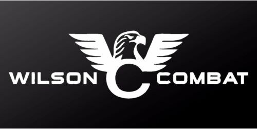Wilson Combat M1911A1 Pistol Logo Vinyl Decal Car Window Gun Case Sticker