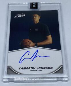 CAMERON JOHNSON 2019-20 Panini Instant Blue Ink On Card Auto Autograph #9/25 RC
