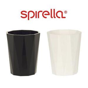 Spirella-Crystal-Plastic-Toothbrush-Holder-Drinking-Rinsing-Wash-Cup-Bathroom