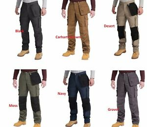 7caed7729d Image is loading Carhartt-Mens-Multipocket-Ripstop-work-pants-trousers