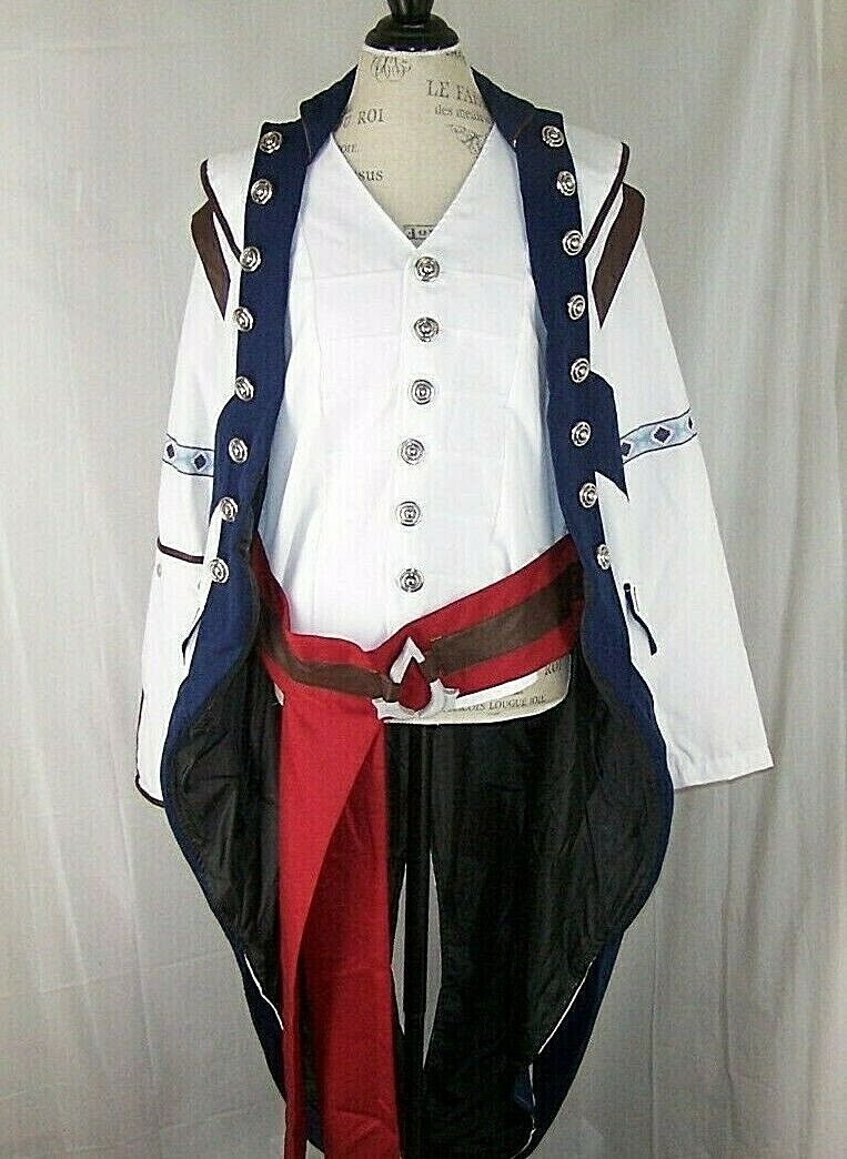 Dazcos Multicolor Assassins Creed Connor Kenway Cosplay Costume