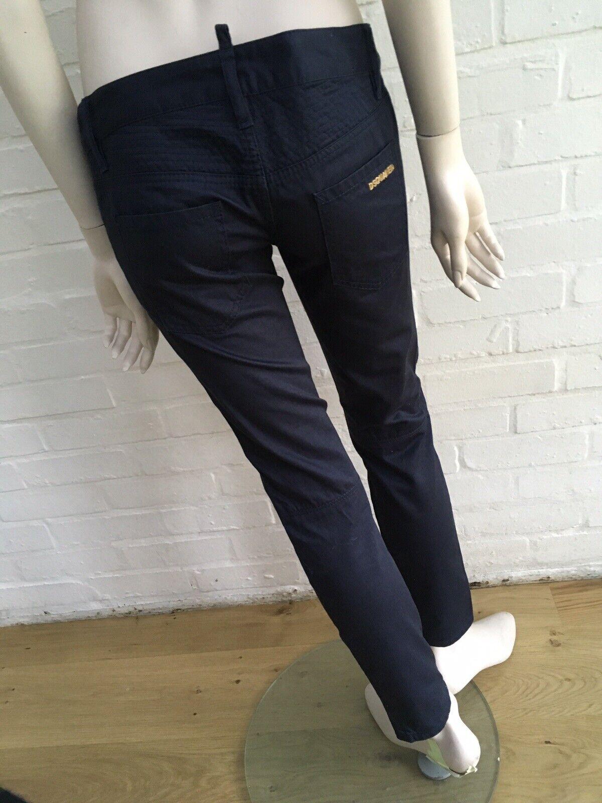 Dsquarot² Low-Rise Skinny Pants Trousers Größe I 40 US 4 UK 8 S Small   Um Sowohl Die Qualität Der Zähigkeit Und Härte    Reichlich Und Pünktliche Lieferung    Lebensecht