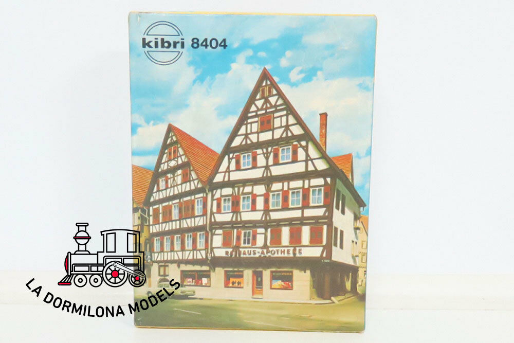 Kibri 8404 B h0 kit building pharmacy-brand new