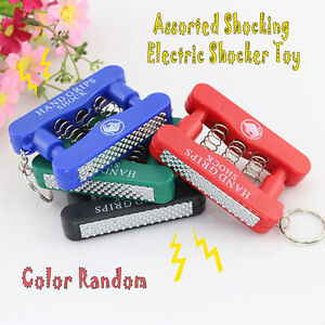 Assorted Shocking Electric Shocker Toy Novelty Fake Gag Gift Trick Prank New Top