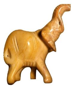 Details About Handmade Crafted Soapstone Elephant Figure Home Decor Kenya Africa Fair Trade
