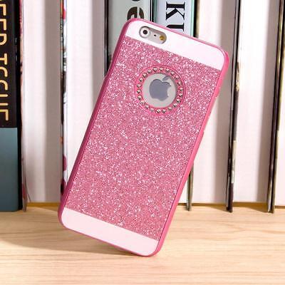 Luxury Bling diamond Glitter Hard Back Phone Case Cover For iPhone 7/6S/Plus 5.5