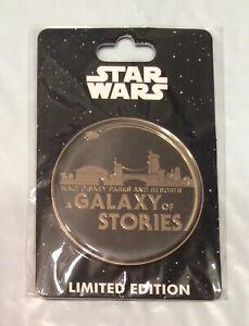 Disney Star Wars Galaxy/'s Edge HAN SOLO Millennium Falcon Reveal Pin LE 1500 NEW