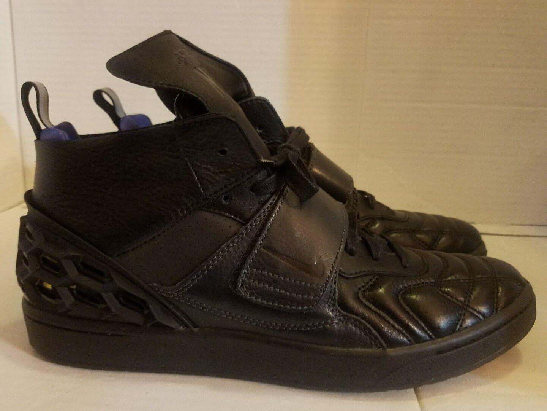 Nike Lab Tiempo Vetta Black Vachetta Tan 840482-001 Size 10 LIMITED Federer