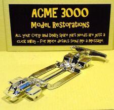 Corgi 343 Pontiac Firebird Reproduction Chrome Chassis & Rear Bumper Fender Unit