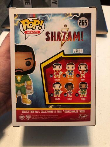 Pedro Vinyl Figure In Stock Funko Pop Shazam Movie