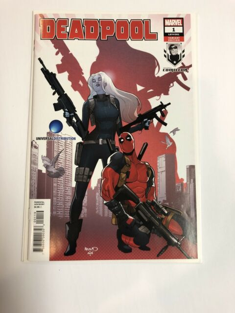 Deadpool (2018) # 1 (NM) Legacy #301 Montreal Comiccon Variant !
