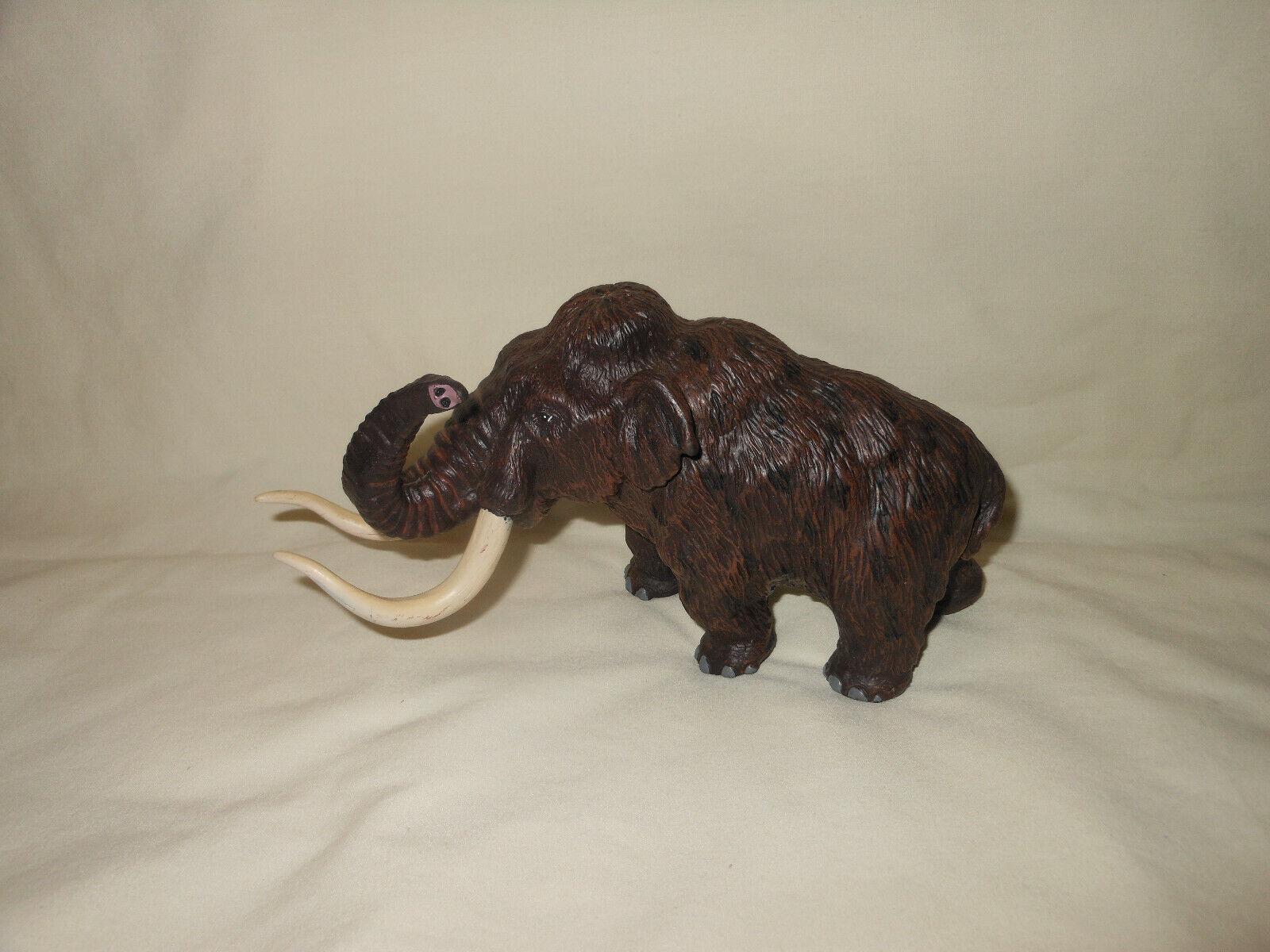 Mamuthus mamut lanudo Safari Ltd. 1997 Figura Vintage enlaces faltantes